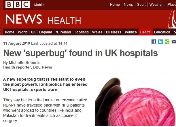Cheap Cosmetic Surgery Abroad brings back new SuperBugs to UK