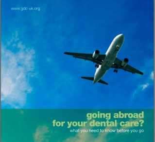 GDC Warnings about Treatment Abroad